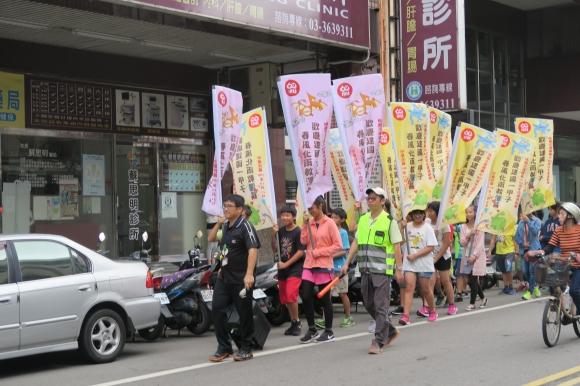 106.10.18 ---60週年校慶運動會踩街活動-